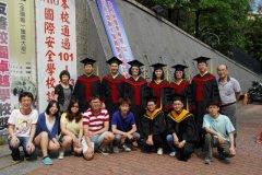 101學年度師生畢業照