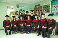 100學年度師生畢業照