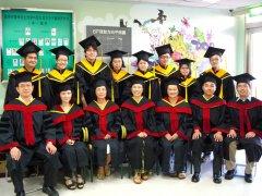 99學年度師生畢業照