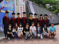 102學年度師生畢業照